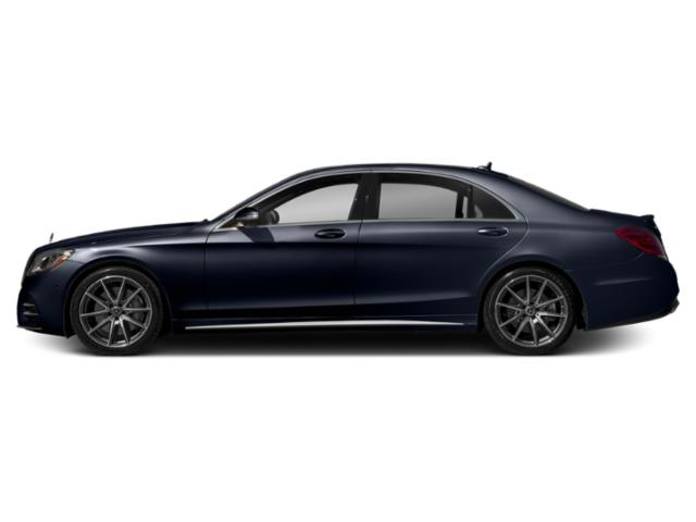 Lunar Blue Metallic 2019 Mercedes-Benz S-Class Pictures S-Class S 450 4MATIC Sedan photos side view