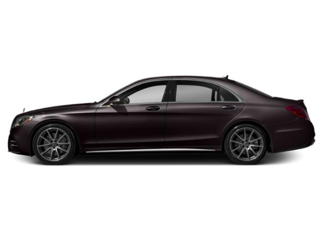 Ruby Black Metallic 2019 Mercedes-Benz S-Class Pictures S-Class S 450 4MATIC Sedan photos side view