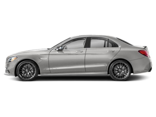 Mojave Silver Metallic 2019 Mercedes-Benz C-Class Pictures C-Class AMG C 63 Sedan photos side view