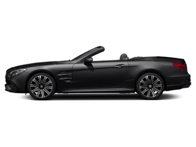 Black 2019 Mercedes-Benz SL Pictures SL SL 450 Roadster photos side view