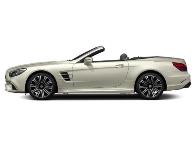 Polar White 2019 Mercedes-Benz SL Pictures SL SL 450 Roadster photos side view