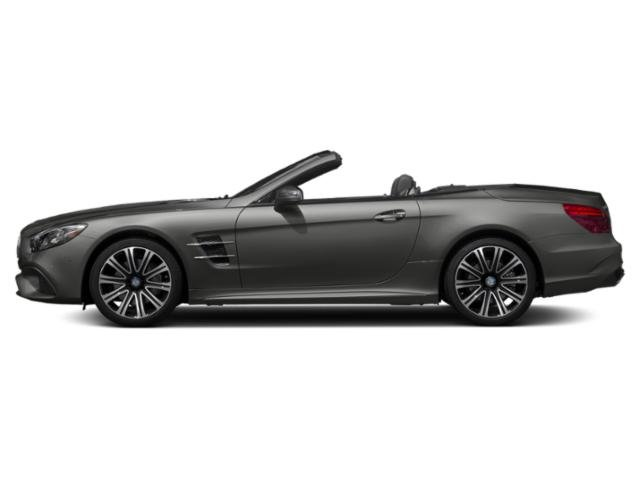 designo Selenite Grey Magno 2019 Mercedes-Benz SL Pictures SL SL 450 Roadster photos side view