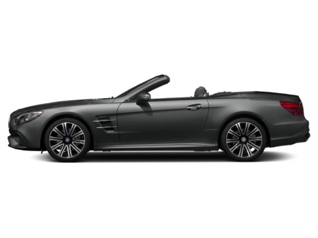 Graphite Grey Metallic 2019 Mercedes-Benz SL Pictures SL SL 450 Roadster photos side view