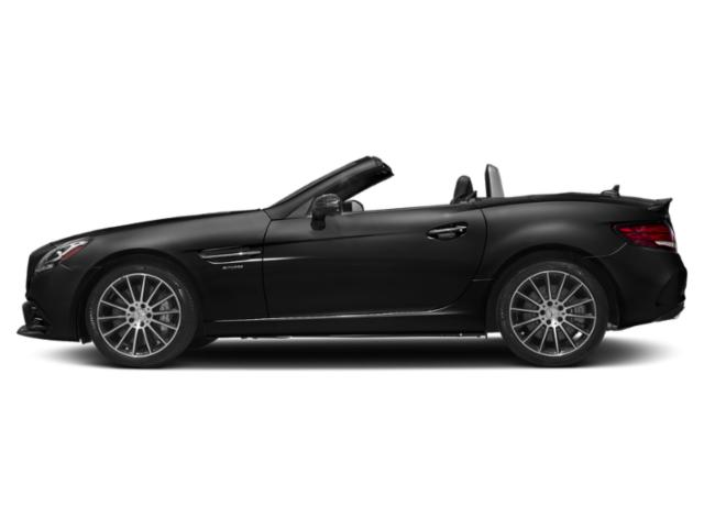 Obsidian Black Metallic 2019 Mercedes-Benz SLC Pictures SLC AMG SLC 43 Roadster photos side view
