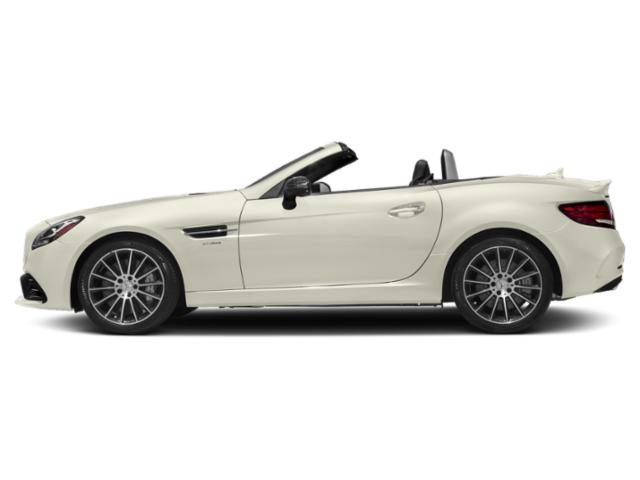 Polar White 2019 Mercedes-Benz SLC Pictures SLC AMG SLC 43 Roadster photos side view