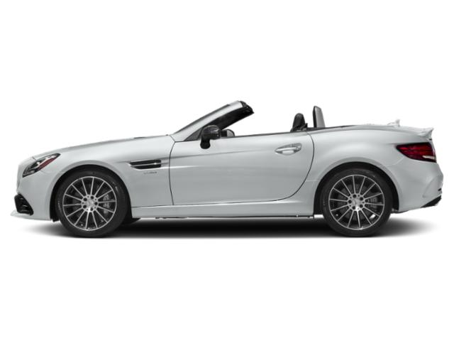 Iridium Silver Metallic 2019 Mercedes-Benz SLC Pictures SLC AMG SLC 43 Roadster photos side view