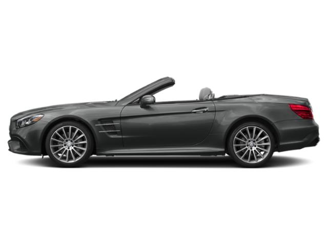 Selenite Grey Metallic 2019 Mercedes-Benz SL Pictures SL SL 550 Roadster photos side view