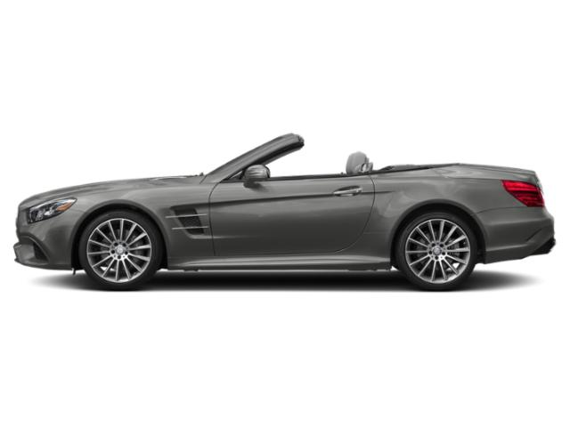 designo Selenite Grey Magno 2019 Mercedes-Benz SL Pictures SL SL 550 Roadster photos side view
