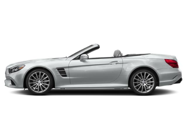 Iridium Silver Metallic 2019 Mercedes-Benz SL Pictures SL SL 550 Roadster photos side view