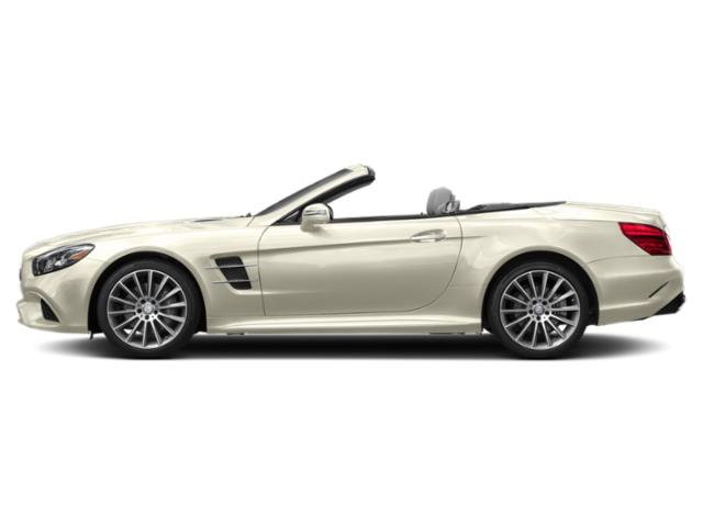 designo Diamond White Metallic 2019 Mercedes-Benz SL Pictures SL SL 550 Roadster photos side view