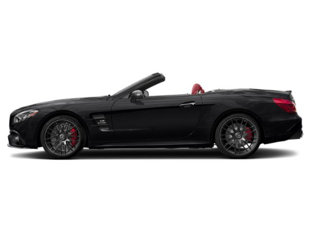 Black 2019 Mercedes-Benz SL Pictures SL AMG SL 63 Roadster photos side view