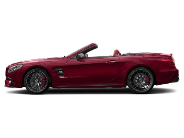 designo Cardinal Red Metallic 2019 Mercedes-Benz SL Pictures SL AMG SL 63 Roadster photos side view
