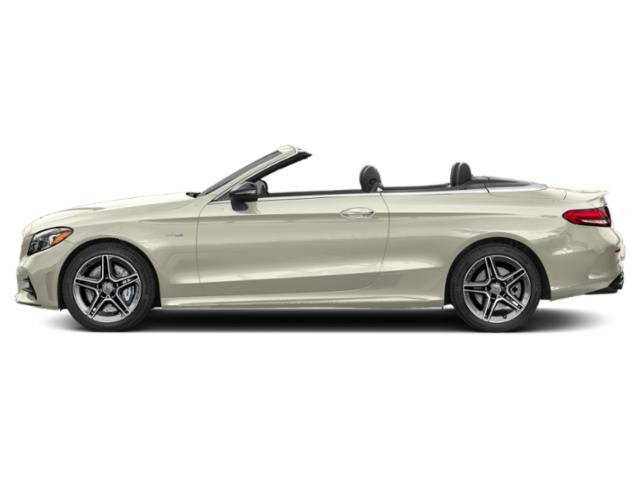 Polar White 2019 Mercedes-Benz C-Class Pictures C-Class AMG C 43 4MATIC Cabriolet photos side view