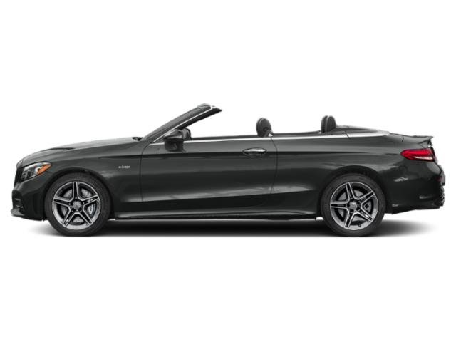 Selenite Grey Metallic 2019 Mercedes-Benz C-Class Pictures C-Class AMG C 43 4MATIC Cabriolet photos side view