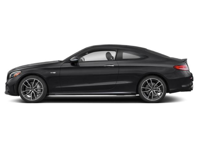 Black 2019 Mercedes-Benz C-Class Pictures C-Class AMG C 43 4MATIC Coupe photos side view