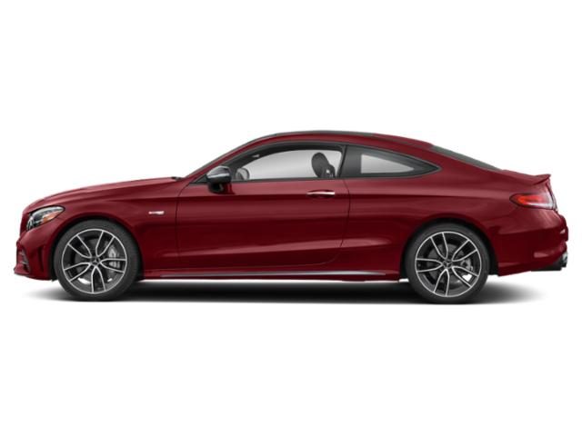 designo Cardinal Red Metallic 2019 Mercedes-Benz C-Class Pictures C-Class AMG C 43 4MATIC Coupe photos side view