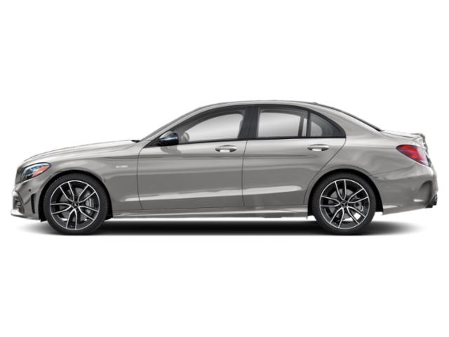 Mojave Silver Metallic 2019 Mercedes-Benz C-Class Pictures C-Class AMG C 43 4MATIC Sedan photos side view