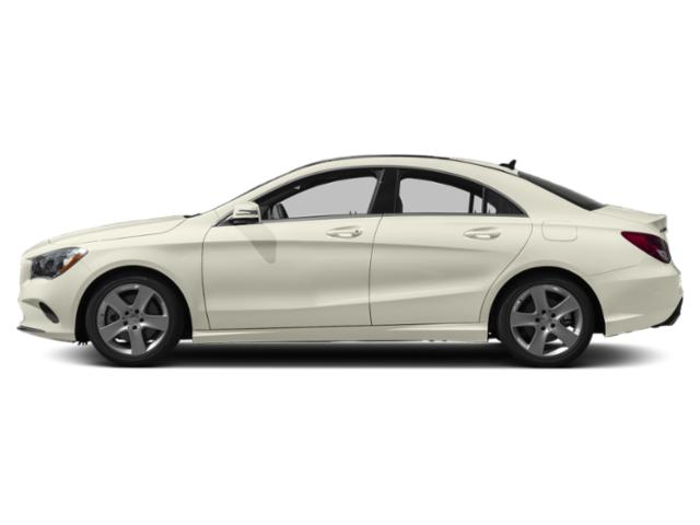 Polar White 2019 Mercedes-Benz CLA Pictures CLA CLA 250 4MATIC Coupe photos side view