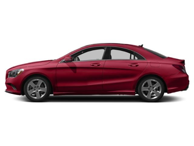 Jupiter Red 2019 Mercedes-Benz CLA Pictures CLA CLA 250 4MATIC Coupe photos side view