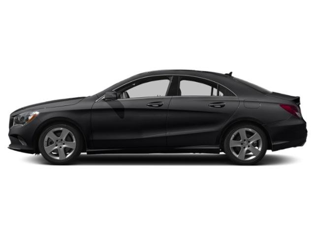 Night Black 2019 Mercedes-Benz CLA Pictures CLA CLA 250 4MATIC Coupe photos side view