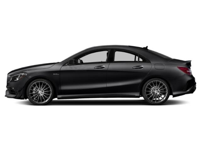 Night Black 2019 Mercedes-Benz CLA Pictures CLA AMG CLA 45 4MATIC Coupe photos side view