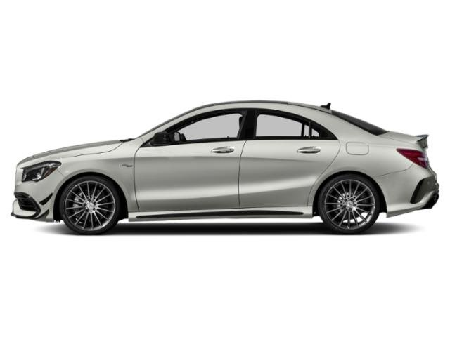 Polar Silver Metallic 2019 Mercedes-Benz CLA Pictures CLA AMG CLA 45 4MATIC Coupe photos side view