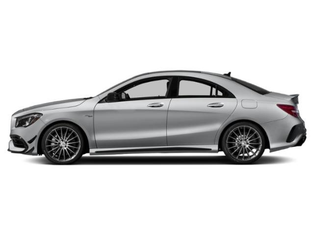 designo Polar Silver Magno (Matte Finish) 2019 Mercedes-Benz CLA Pictures CLA AMG CLA 45 4MATIC Coupe photos side view