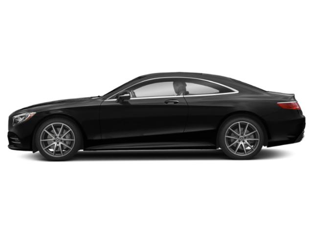 Obsidian Black Metallic 2019 Mercedes-Benz S-Class Pictures S-Class S 560 4MATIC Coupe photos side view