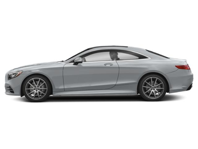 Diamond Silver Metallic 2019 Mercedes-Benz S-Class Pictures S-Class S 560 4MATIC Coupe photos side view