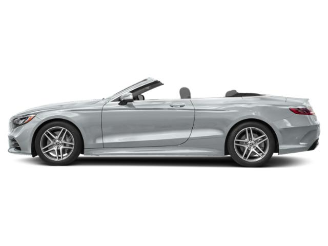 Diamond Silver Metallic 2019 Mercedes-Benz S-Class Pictures S-Class S 560 Cabriolet photos side view
