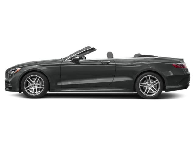 Selenite Grey 2019 Mercedes-Benz S-Class Pictures S-Class S 560 Cabriolet photos side view