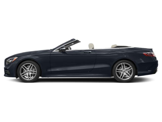 Anthracite Blue Metallic 2019 Mercedes-Benz S-Class Pictures S-Class S 560 Cabriolet photos side view