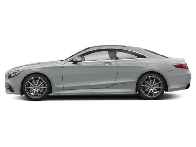 Iridium Silver Metallic 2019 Mercedes-Benz S-Class Pictures S-Class S 560 4MATIC Coupe photos side view