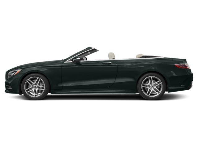 Emerald Green Metallic 2019 Mercedes-Benz S-Class Pictures S-Class S 560 Cabriolet photos side view