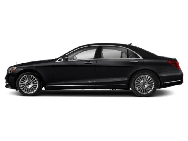 Black 2019 Mercedes-Benz S-Class Pictures S-Class S 560 Sedan photos side view