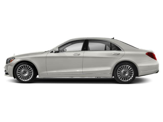 designo Cashmere White Magno 2019 Mercedes-Benz S-Class Pictures S-Class S 560 Sedan photos side view