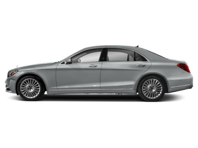 Iridium Silver Metallic 2019 Mercedes-Benz S-Class Pictures S-Class S 560 Sedan photos side view