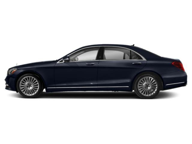Lunar Blue Metallic 2019 Mercedes-Benz S-Class Pictures S-Class S 560 Sedan photos side view