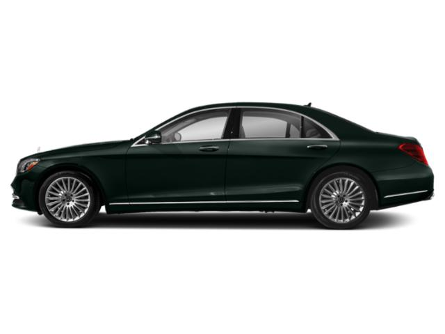 Emerald Green Metallic 2019 Mercedes-Benz S-Class Pictures S-Class S 560 Sedan photos side view