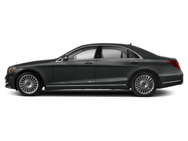 Selenite Grey 2019 Mercedes-Benz S-Class Pictures S-Class S 560 Sedan photos side view