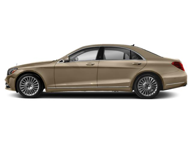 Dune Silver Metallic 2019 Mercedes-Benz S-Class Pictures S-Class S 560 Sedan photos side view