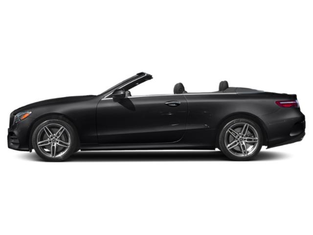 Black 2019 Mercedes-Benz E-Class Pictures E-Class E 450 4MATIC Cabriolet photos side view