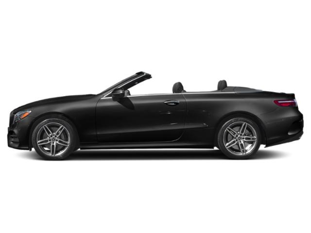 Obsidian Black Metallic 2019 Mercedes-Benz E-Class Pictures E-Class E 450 4MATIC Cabriolet photos side view