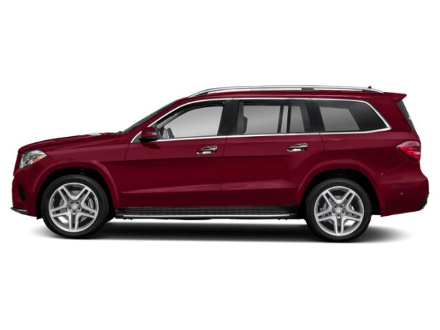 designo Cardinal Red Metallic 2019 Mercedes-Benz GLS Pictures GLS GLS 550 4MATIC SUV photos side view