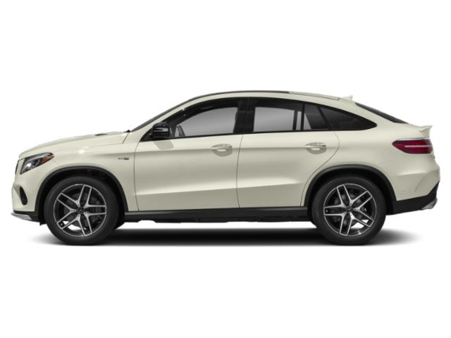 Polar White 2019 Mercedes-Benz GLE Pictures GLE AMG GLE 43 4MATIC Coupe photos side view