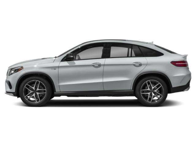 Iridium Silver Metallic 2019 Mercedes-Benz GLE Pictures GLE AMG GLE 43 4MATIC Coupe photos side view
