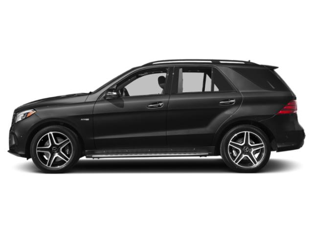 Obsidian Black Metallic 2019 Mercedes-Benz GLE Pictures GLE AMG GLE 43 4MATIC SUV photos side view