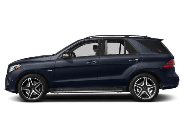 Lunar Blue Metallic 2019 Mercedes-Benz GLE Pictures GLE AMG GLE 43 4MATIC SUV photos side view