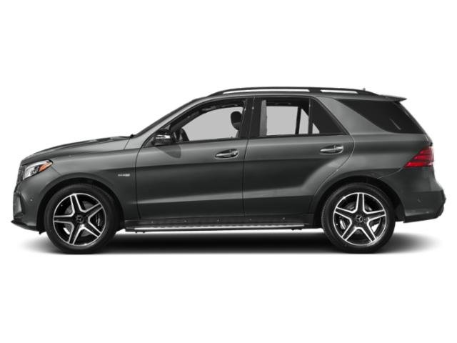 Selenite Grey Metallic 2019 Mercedes-Benz GLE Pictures GLE AMG GLE 43 4MATIC SUV photos side view