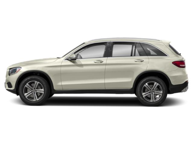 Polar White 2019 Mercedes-Benz GLC Pictures GLC GLC 300 4MATIC SUV photos side view